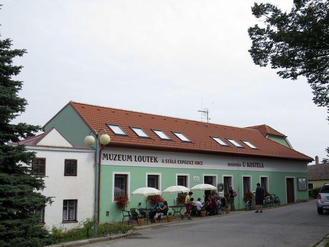 centrum obce Svatý Jan nad Malší