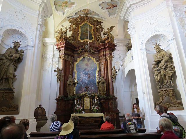 škapulířová kaple Panny Marie Karmelské