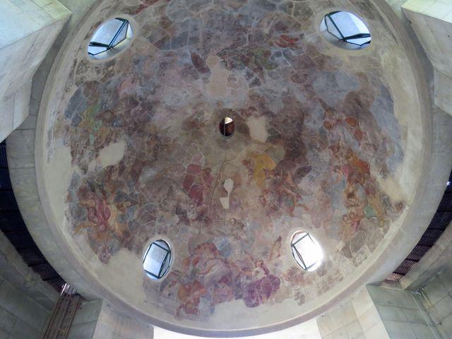 Rainerova freska je v žalostném stavu; www.svatosi.cz
