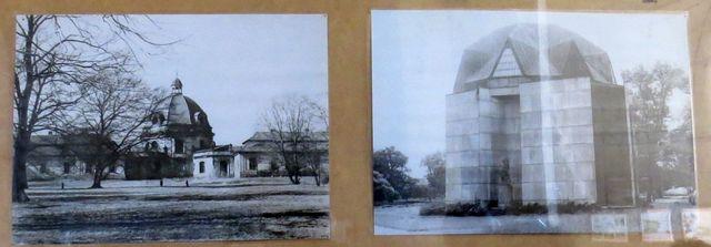 fotografie bývalého barokního špitálu, vedle pavilon otevřený roku 1983