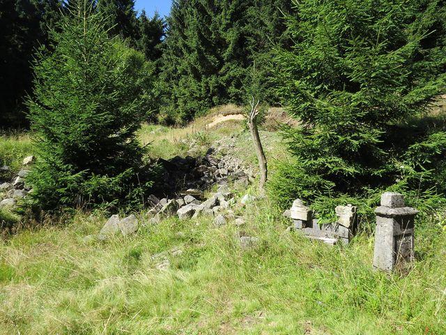památky po obci Fláje