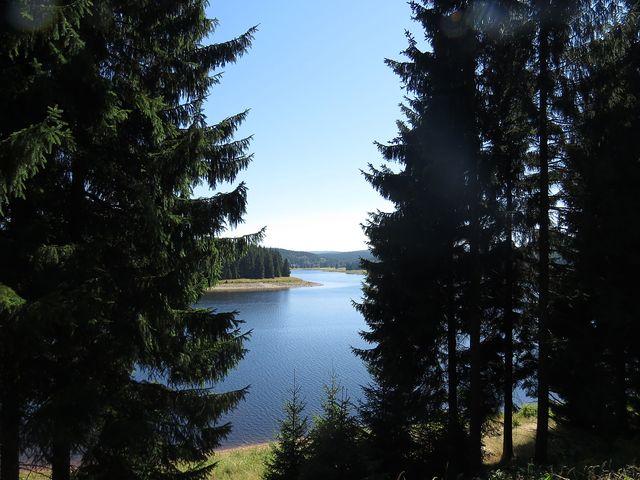 Flájská přehrada byla dokončena v roce 1960