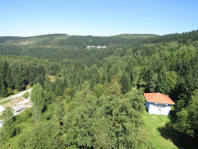 nekonečné lesy Loučenské hornatiny