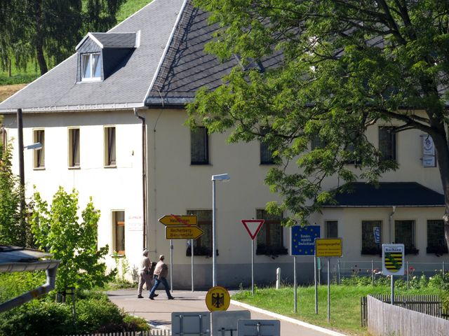 Německý Jiřetín - hraniční přechod