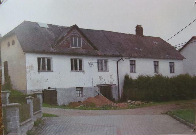 kovárna a vedlejší dům - 70. léta 20. století
