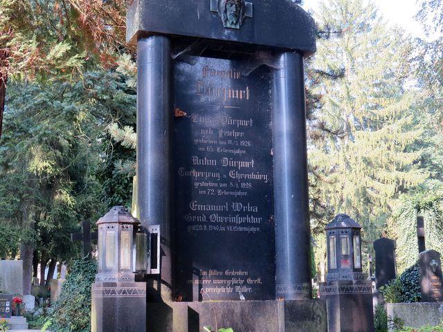 náhrobek rodiny Dürportových
