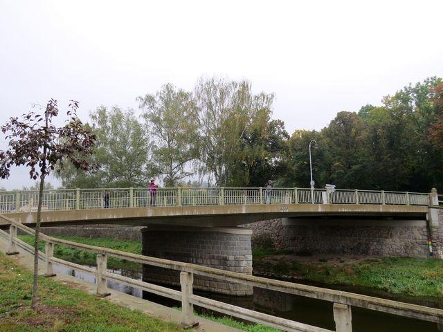 Masarykův most přes Tichou Orlici byl upraven v letech 2009–2010