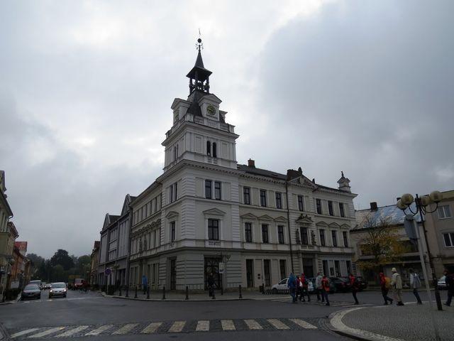 novorenesanční radnice v Chocni