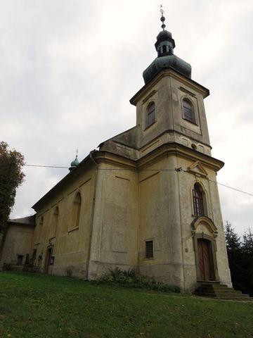 kostel Nanebecstoupení Páně v Brandýse nad Orlicí
