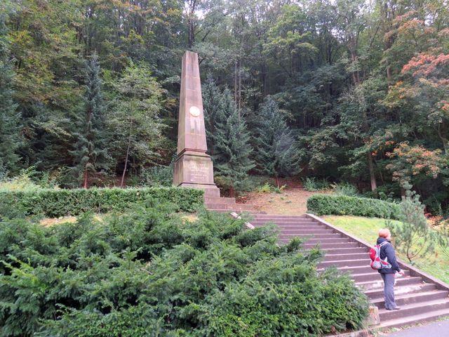 památník J. A. Komenského z roku 1865