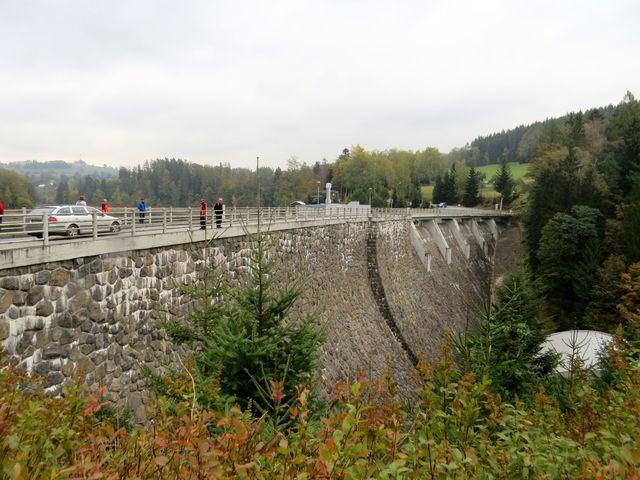 přehrada byla dokončena roku 1938