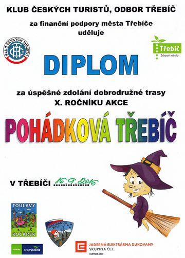 vzpomínka na vydařenou turistiku v Třebíči