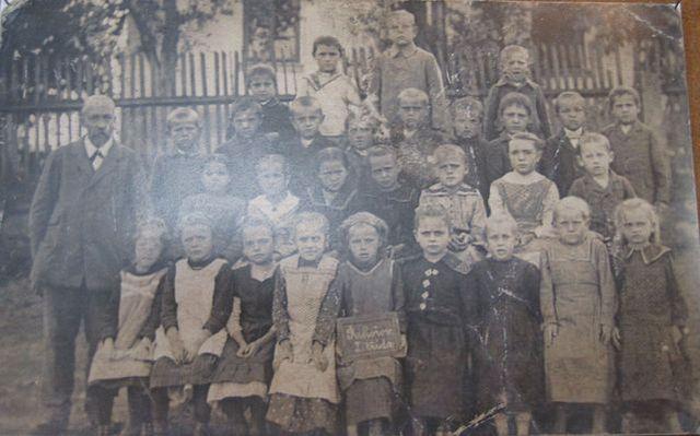 pan učitel Kunovský, konec 20. let 20. století
