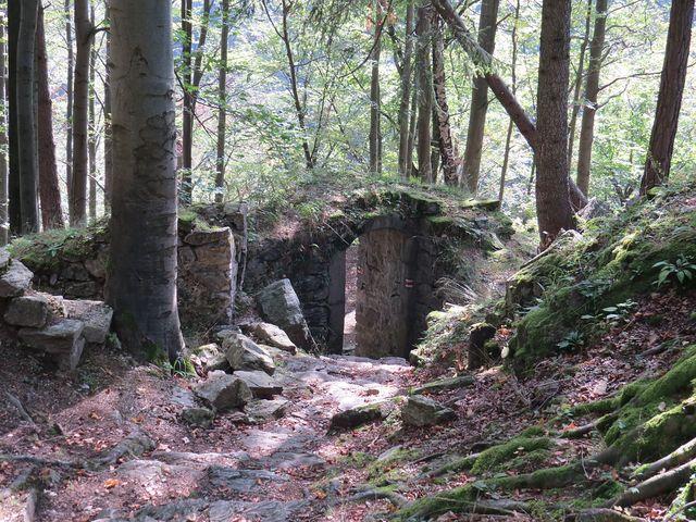 areál hradu Rychleby, původní název není znám
