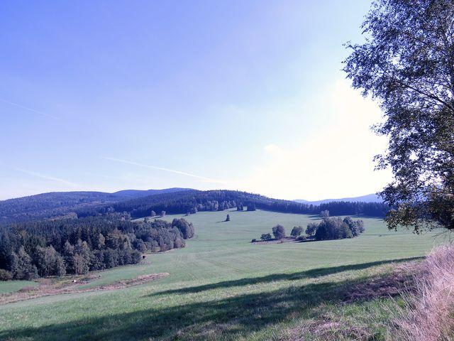 Rychlebské hory - katastr bývalé obce Gränzdorf, dnes Hraničky