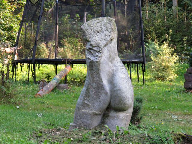 zahradní galerie v Horních Skorošicích
