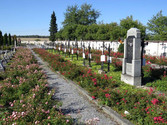 hřbitov v Bílé Vodě je kulturní památka
