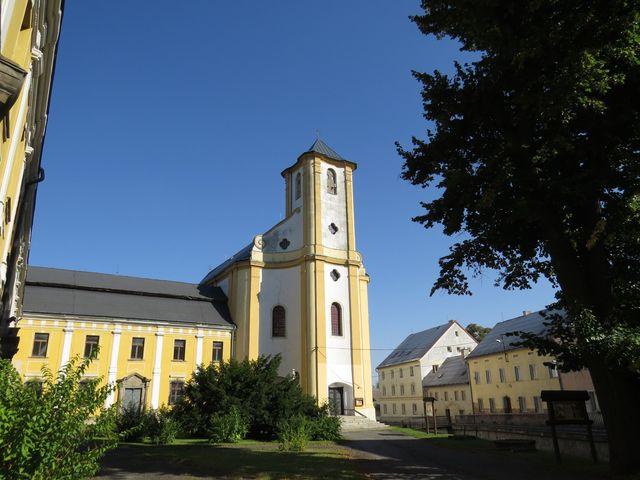 kostel Navštívení Panny Marie v Bílé Vodě