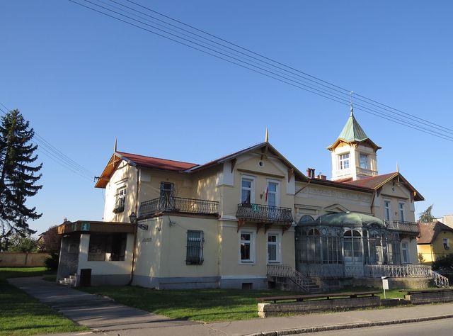 centrum města Javorníku