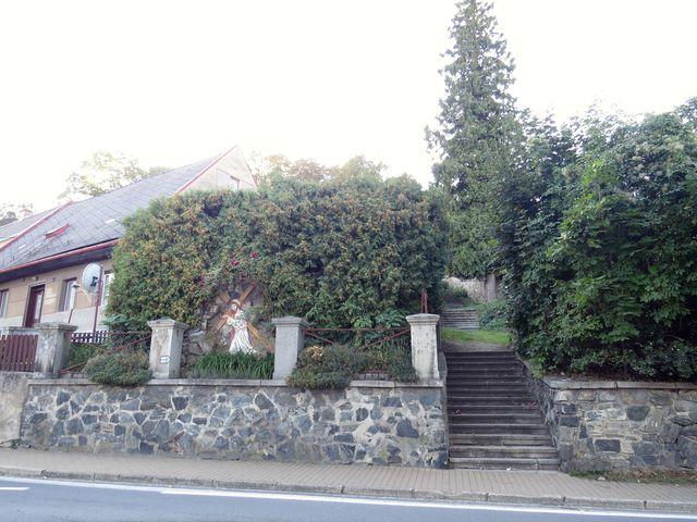 vedlejší schody na Jánský Vrch