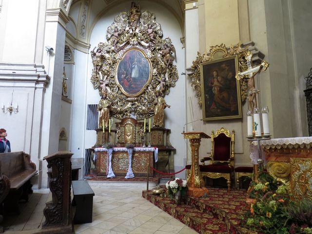 oltář sv. Valentina