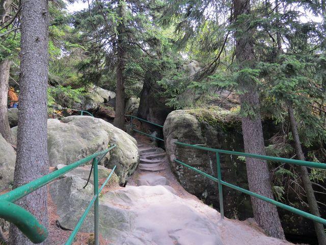 schody postavené na přelomu 18. a 19. století slouží s úpravami dodnes