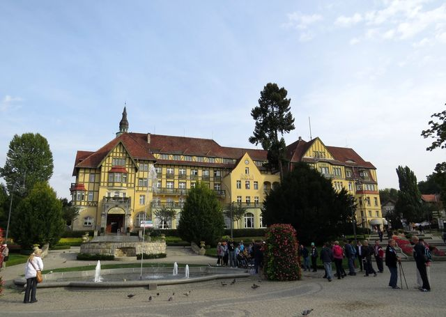sanatorium Polonia v lázních Kudowa