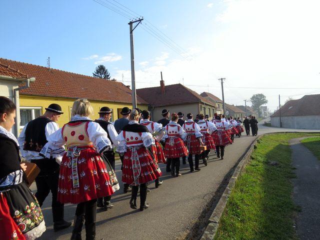 tradiční krojované hody probíhaly v Mohelně tento víkend