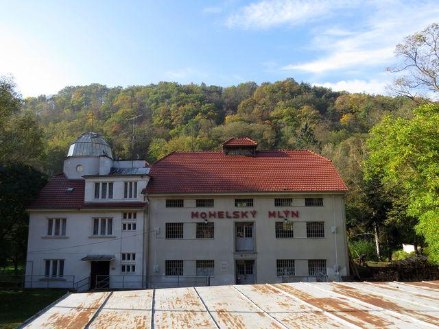 Mohelský mlýn na řece Jihlavě slouží jako terénní stanice Akademie věd ČR