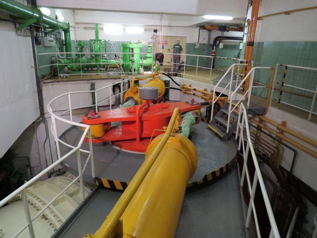 hydraulické ovládání přívodu vody