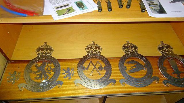 expozice ve vojenském muzeu ve Vícenicích u Náměště nad Oslavou; foto L. Tomáš