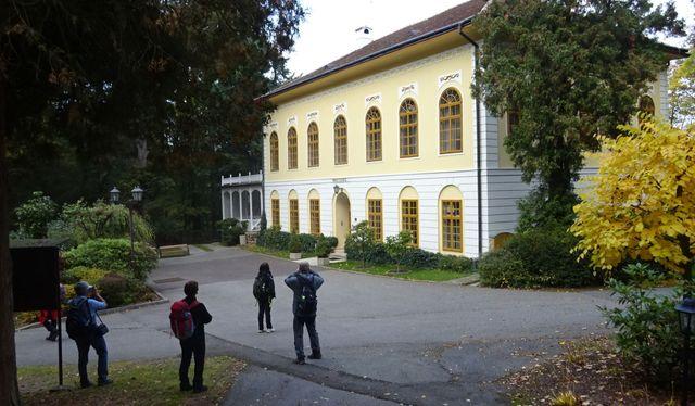 zámeček nechal postavit hrabě Haugwitz, majitel panství Náměšť nad Oslavou; foto L. Tomáš