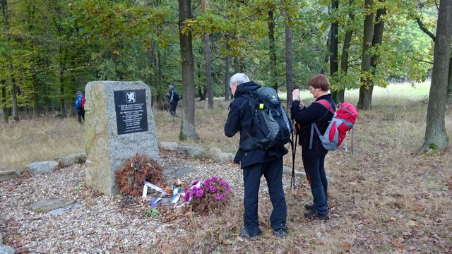 památník paraskupiny Spelter u Kramolína; foto L. Tomáš