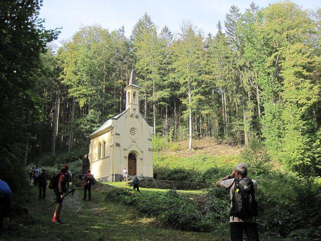 kaple sv. Antonína s pramenem Panny Marie