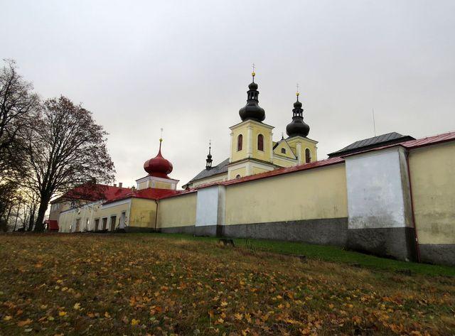 klášterní areál na Hoře Matky Boží u Králík