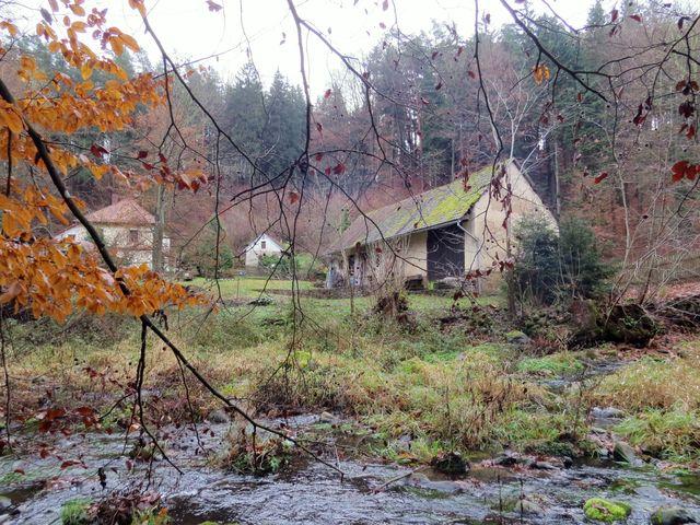 mlýn Peklo u Chrudimky