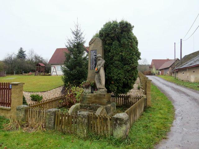 památník padlým v I. světové válce v Brtvi