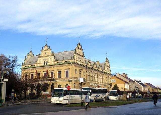 Lázeňský hotel v Bělohradě
