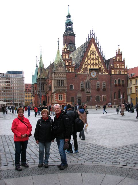 památeční foto z krásného města; foto F. Janeček