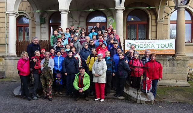 společné foto účastníků z oblasti KČT Vysočina