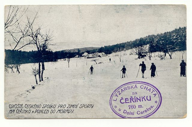 pohled byl 27.5.1916 poslán do Telče