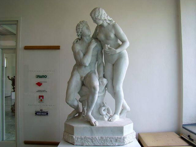 expozice v Galerii plastik je nazvaná České sochařství v první polovině 20. století