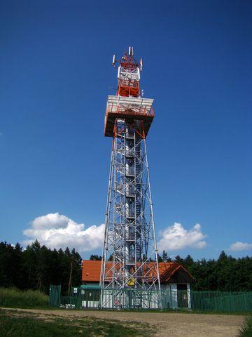 o provoz rozhledny Hořický chlum se starají turisté z KČT Hořice, vystoupili jsme na ni v roce 2008