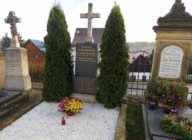 hrob rodičů K. V. Raise