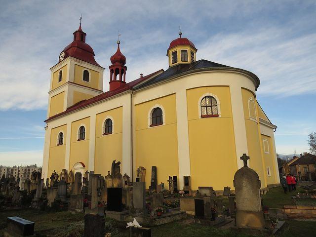 kostel Všech svatých v Lázních Bělohrad