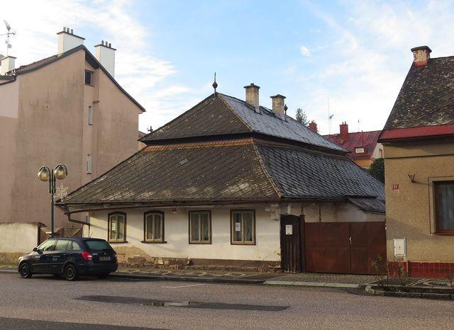 dům z 19. století na Malém náměstí