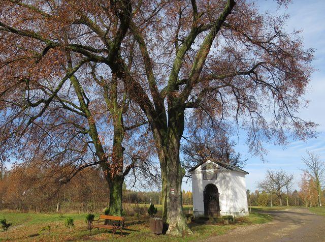 Hlohová kaple na vrcholové plošině Hořického chlumu