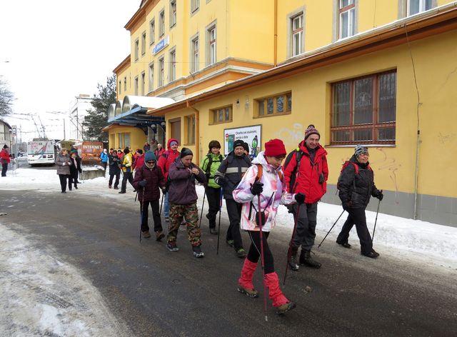 ve 12:30 odstartována trasa na 13 km do Ždírce; www.svatosi.cz