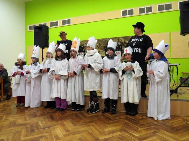 milé vystoupení ždíreckých koledníků; www.svatosi.cz