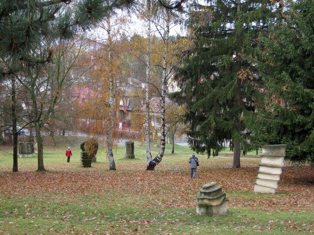 sochařský park U sv. Gotharda